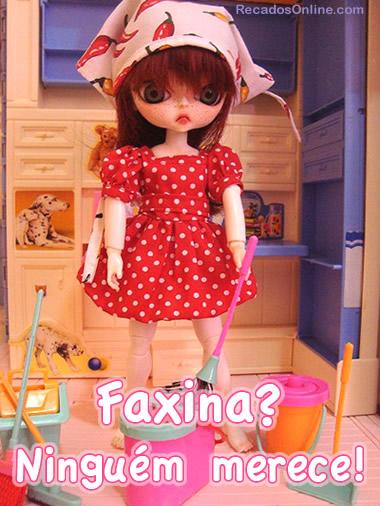 Dia de Faxina Imagem 1