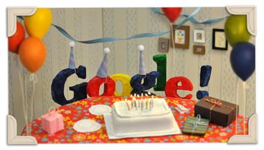 Feliz Aniversário Google imagem 2
