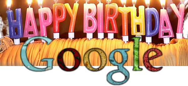 Happy Birthday google.