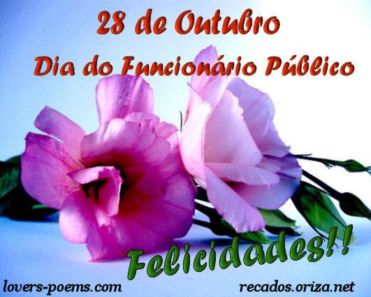 28 de Outubro Dia do Funcionário Público. Felicidades!