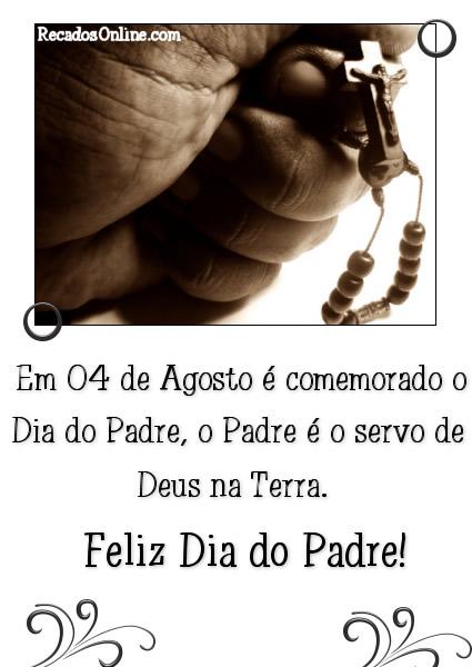 Em 4 de Agosto é comemorado o Dia do...