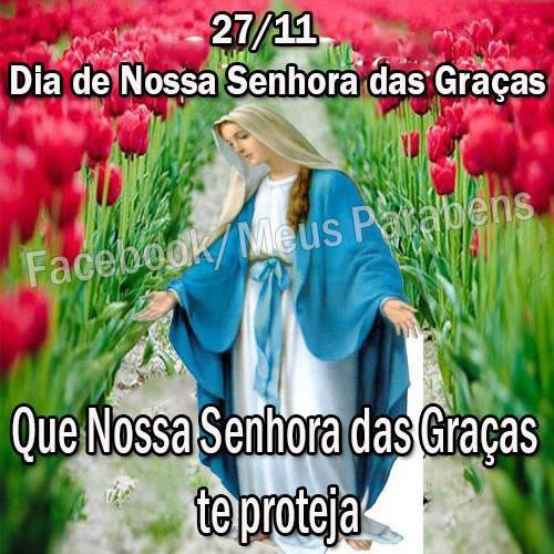 Dia de Nossa Senhora das Graças Imagem 2