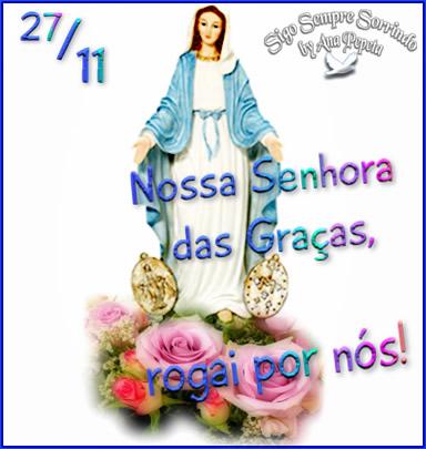 Dia de Nossa Senhora das Graças Imagem 8