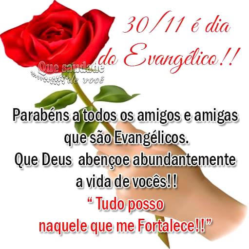 Dia do Evangélico Imagem 1