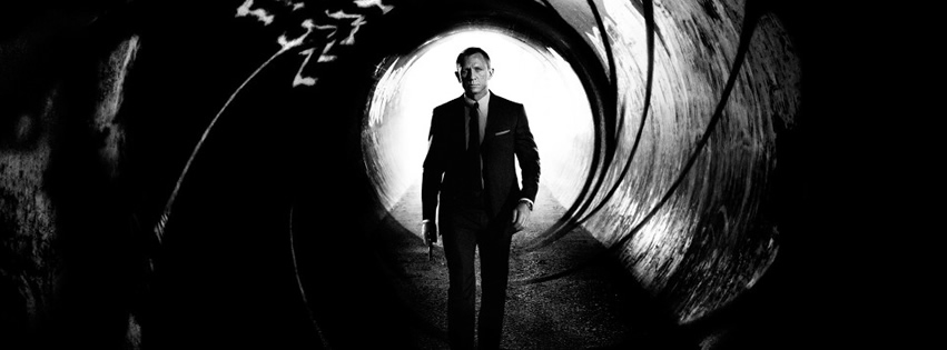 Capa para Facebook do James Bond 007 com Daniel Craig