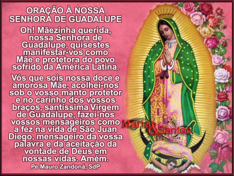 Dia de Nossa Senhora de Guadalupe imagem 1