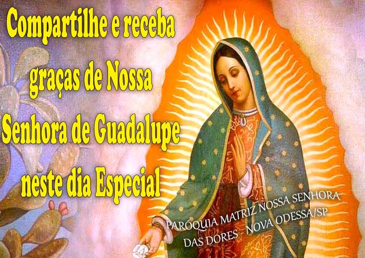 Dia de Nossa Senhora de Guadalupe imagem 2