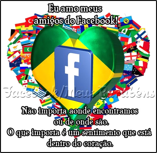 Amigos do Facebook Imagem 1