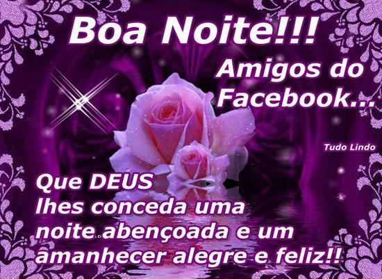 Mensagens De Boa Noite Recados E Mensagens Para Facebook E: Imagens E Mensagens Para Facebook