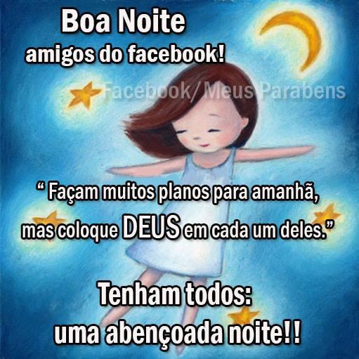 Boa Noite Facebook Imagem 1