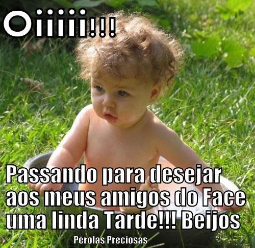 Boa Tarde Facebook Imagem 3