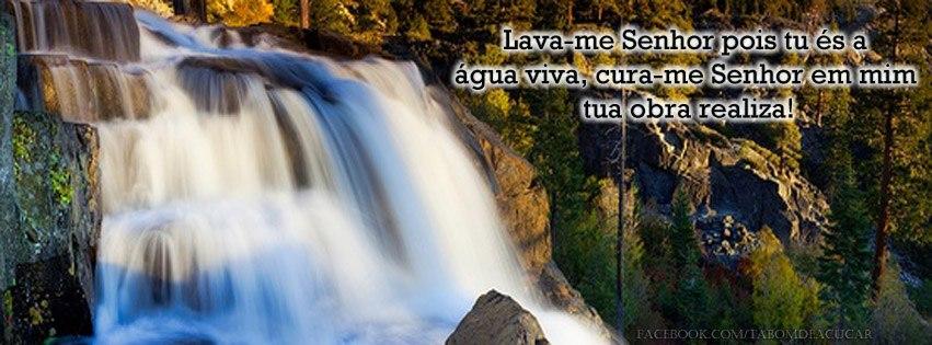 Lava-me, Senhor, pois tu és a água viva; cura-me, Senhor, em mim tua obra realiza!