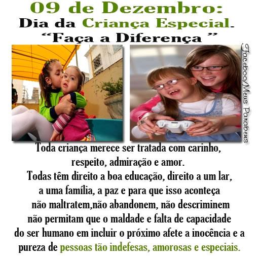 Dia da Criança Especial Imagem