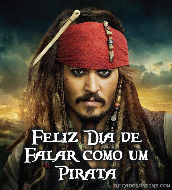 Feliz Dia de Falar como um Pirata