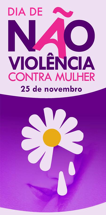 Dia de Não Violência contra a mulher 25 de novembro