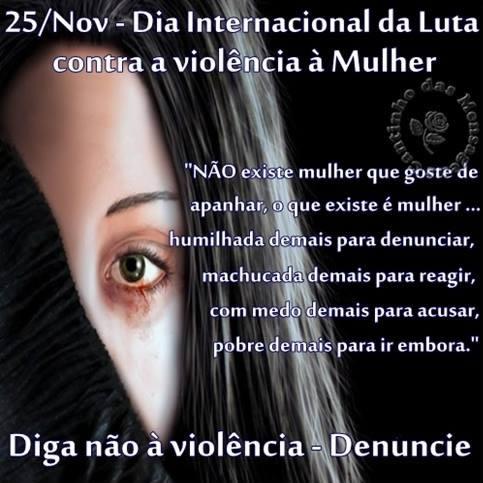 Imagens e Frases de Dia de Não-Violência Contra a Mulher