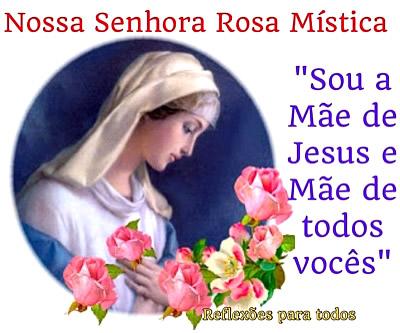 Dia de Nossa Senhora da Rosa Mística Imagem 5