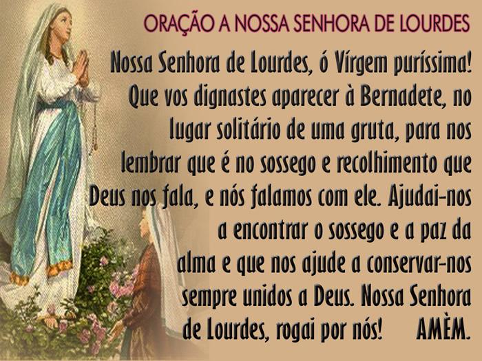 Dia de Nossa Senhora de Lourdes Imagem 3