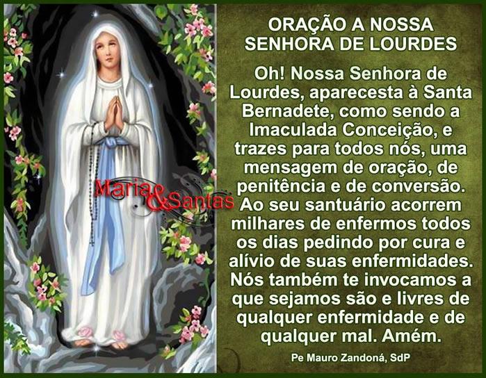 Dia de Nossa Senhora de Lourdes Imagem 1