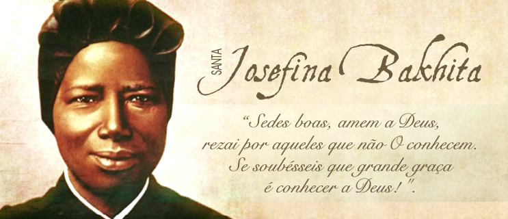 Resultado de imagem para Santa Josefina Bakhita