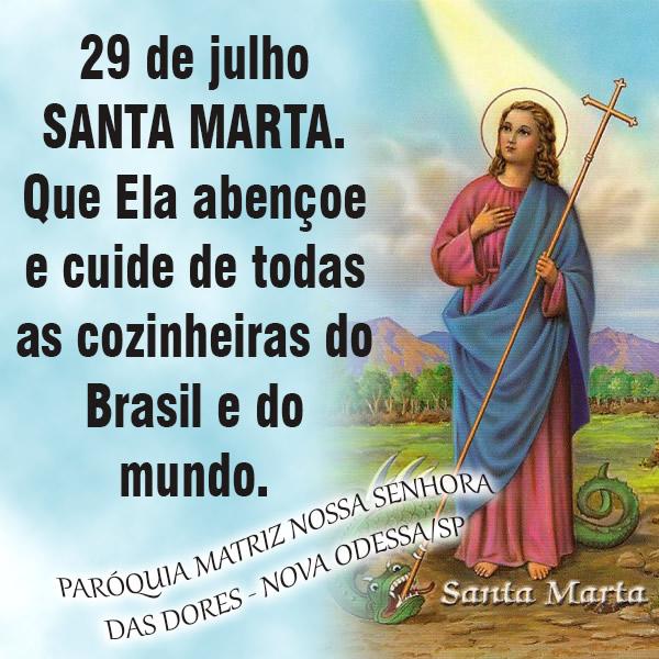 Dia de Santa Marta imagem 1