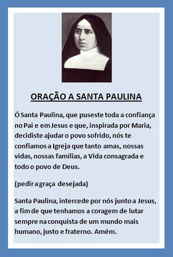 Dia de Santa Paulina Imagem 7
