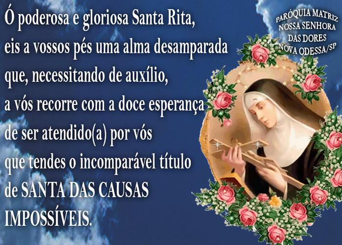 Mensagens De Nossa Senhora Para Facebook: Dia De Santa Rita De Cássia