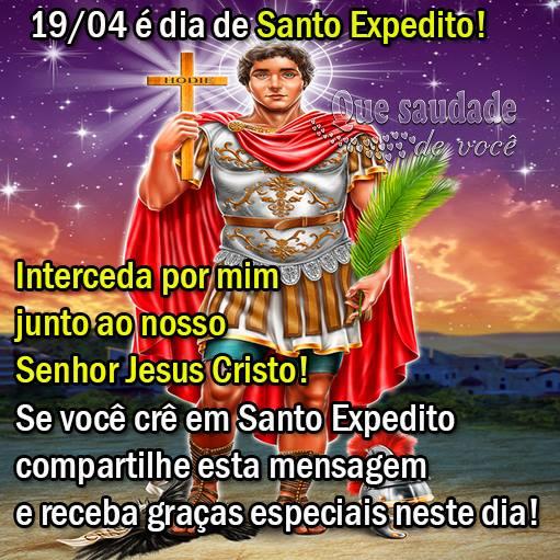 Dia de Santo Expedito Imagem 1