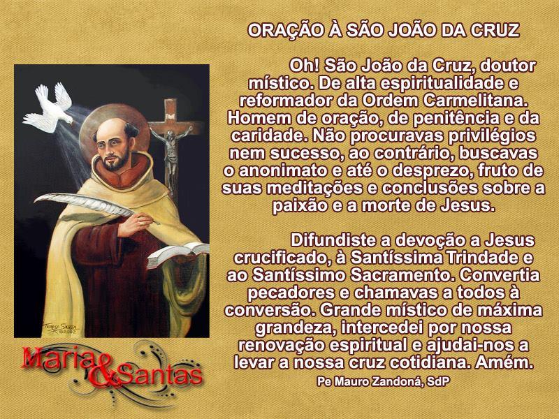 Dia de São João da Cruz imagem 1
