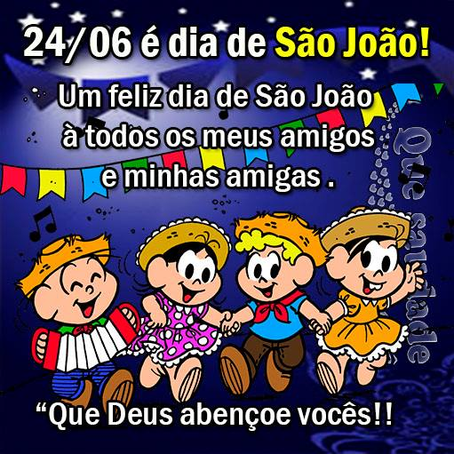 24/06 é Dia de São João! Um feliz Dia de São João a...