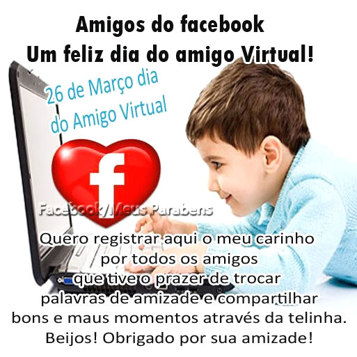 Dia do Amigo Virtual Imagem 9