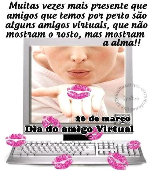 Dia do Amigo Virtual Imagem 2