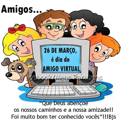 Dia do Amigo Virtual Imagem 4