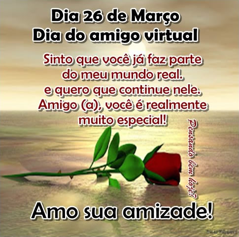 Dia do Amigo Virtual