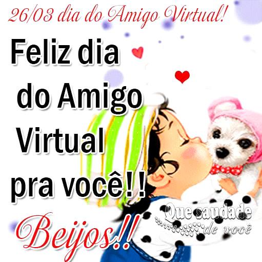 Dia do Amigo Virtual imagem 1