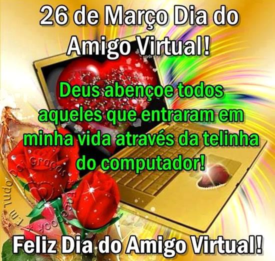Dia do Amigo Virtual imagem 8
