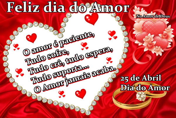 Feliz dia do Amor