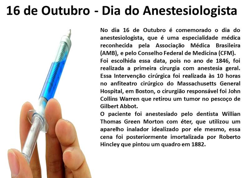 Dia do Anestesiologista imagem 2