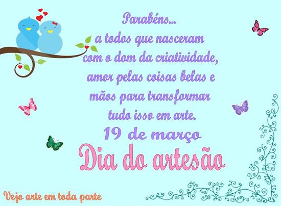 Artesanato De Olinda Pernambuco ~ Dia do Artes u00e3o Imagens, Gifs e Mensagens para Facebook RecadosOnline