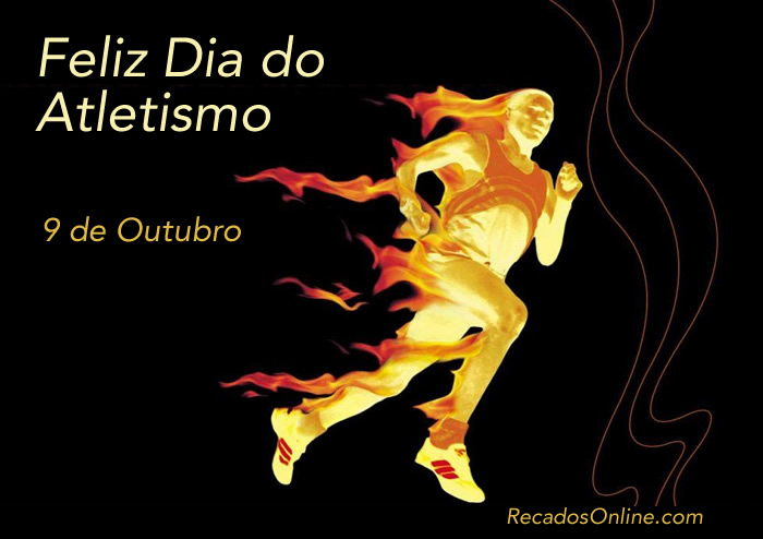 Feliz Dia do Atletismo - 9 de...