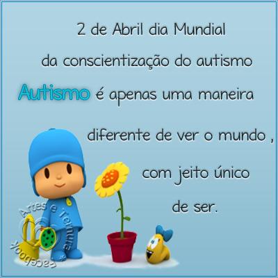 Dia Mundial de Conscientização do Autismo Imagem 1