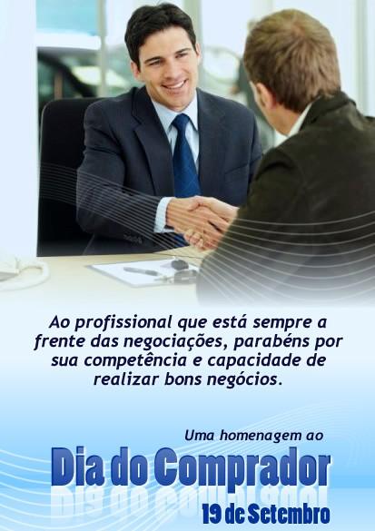 Ao profissional que está sempre a frente das negociações, parabéns por sua competência e capacidade de realizar bons negócios. Uma homenagem ao...