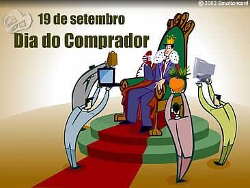 Dia 19 de Setembro - Dia do Comprador
