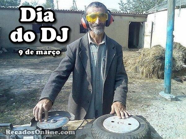 Dia do DJ 9 de Março