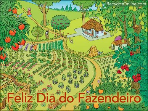 Feliz Dia do Fazendeiro