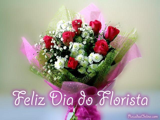 Feliz Dia do Florista