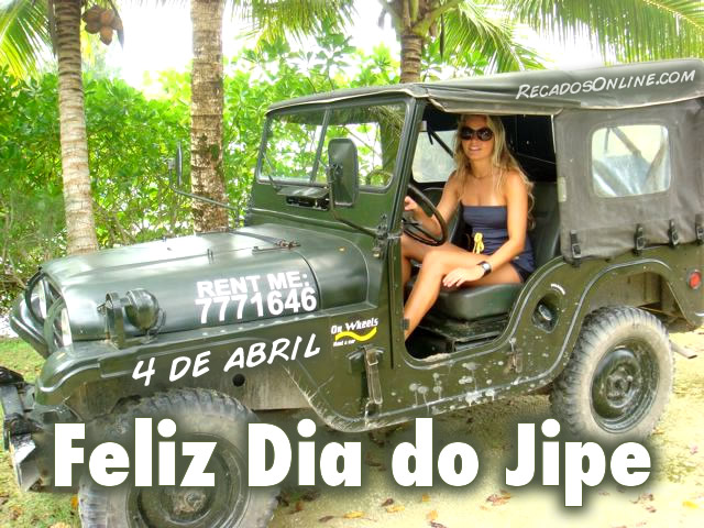 4 de Abril - Feliz Dia do Jipe
