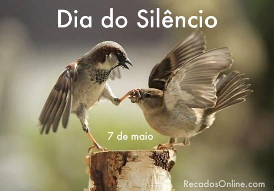 Dia do Silêncio - 7 de...