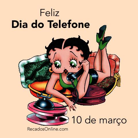 Feliz Dia do Telefone - 10 de...