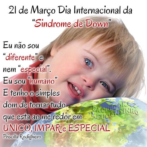 Dia Internacional da Síndrome de Down Imagem 5